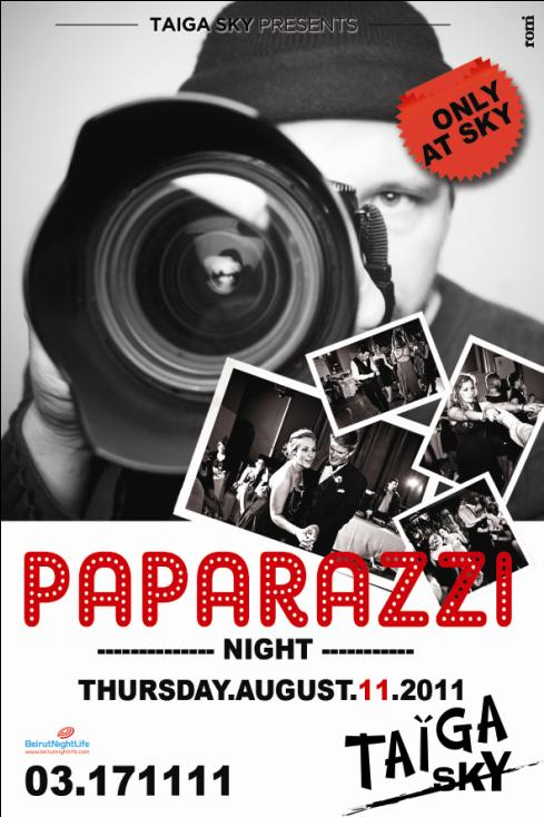 Paparazzi Night At Taiga Sky