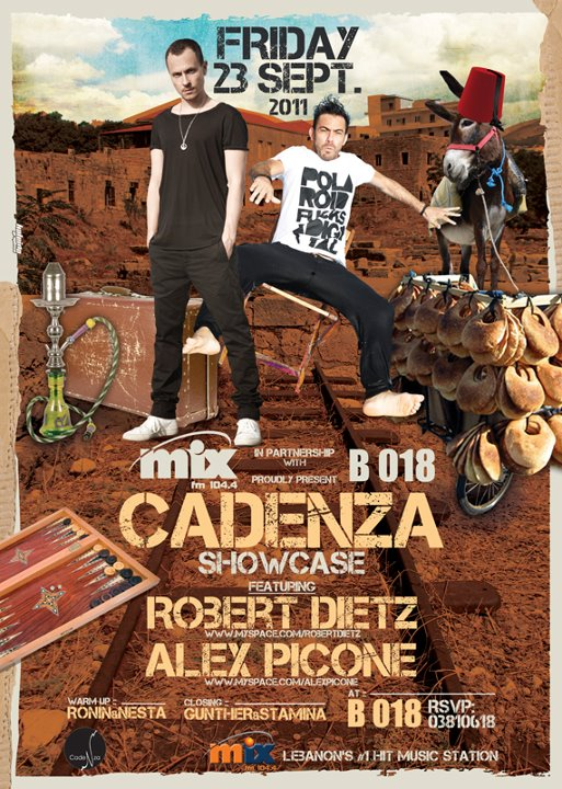Cadenza Showcase With Robert Dietz And Alex Picone At B018