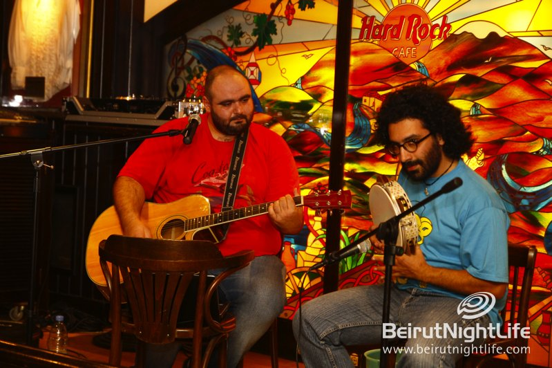 Fats and The Bucketman Groove at Hard Rock Cafe Beirut