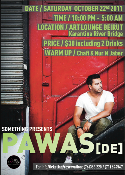 Pawas Live In Lebanon