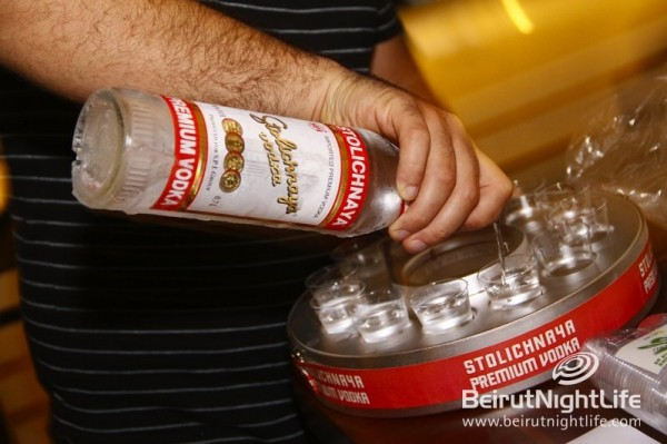 Stoli Tour Continues in Gemmayze and Pierre & Friends