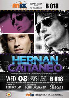 Hernan Cattaneo Live At B018