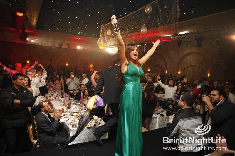 Carol Samaha and Ayman Zbib Sing in the New Year at Eddé Sands