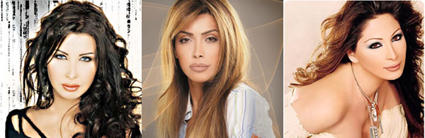 Nancy Ajram vs. Nawal Zoghbi vs. Elissa