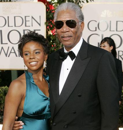 Morgan freeman dating his step daughter