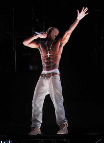 Tupac Rose from the Dead in California!