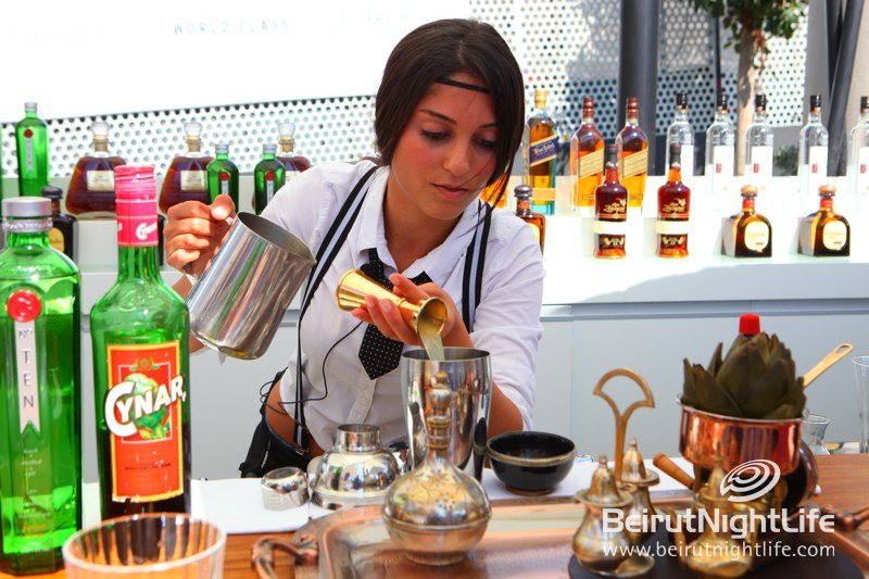 Best Bartenders in Lebanon Compete at Zaitunay Bay for Diageo World Class
