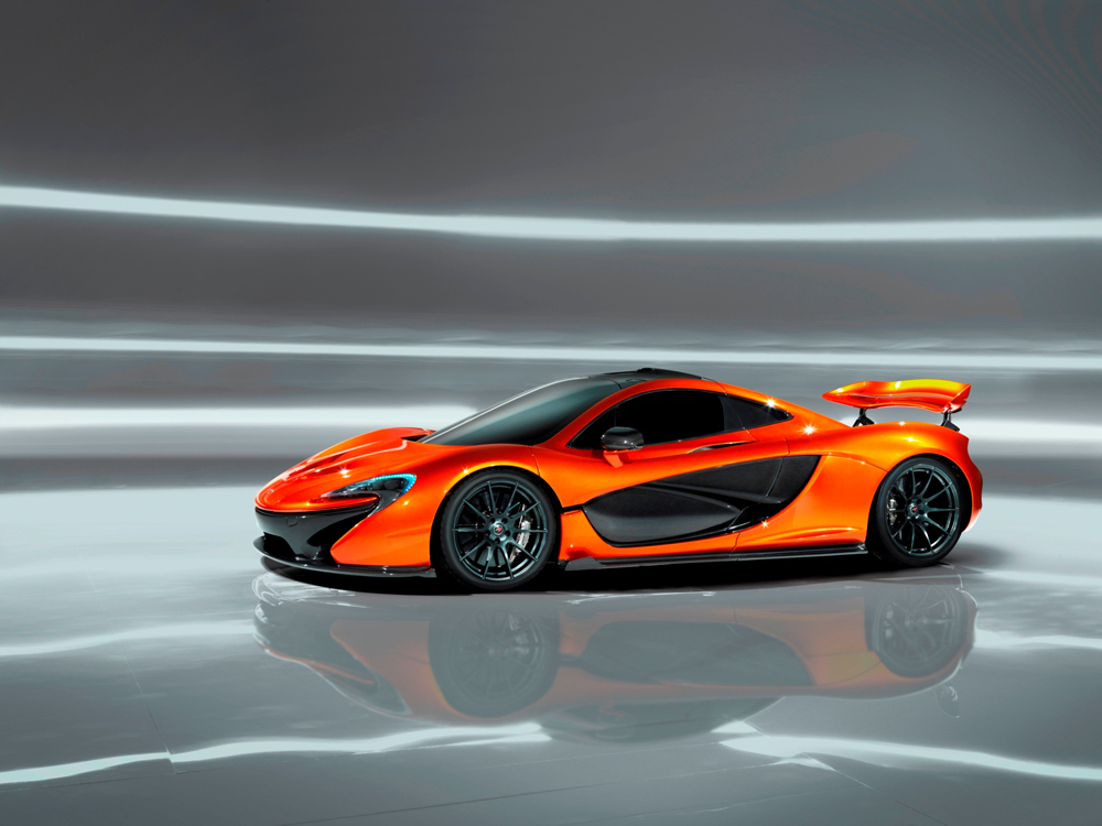 McLaren P1 aims for pole position with global debut in Paris