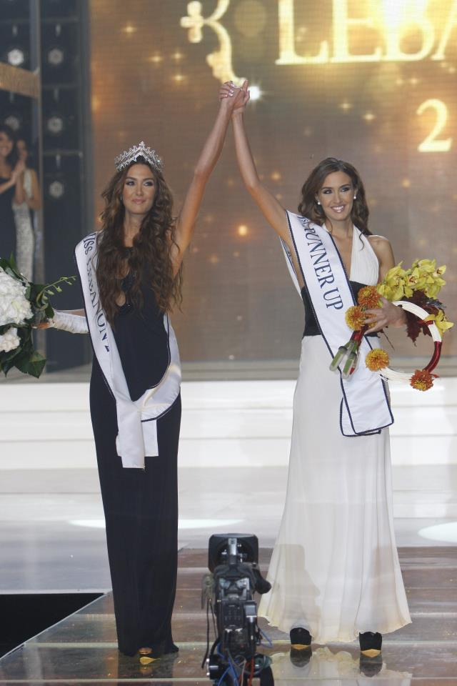 Rina Chibany crowned Miss Lebanon 2012