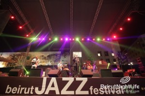 Al-Madar Band Performs Opening Night of the Beirut Jazz Festival 2012