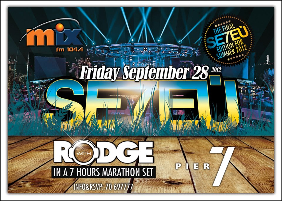 Se7en with Rodge At Pier 7