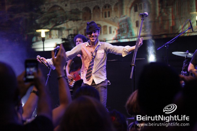 Charlie Winston Rocks the Stage for the Beirut Jazz Festival 2012