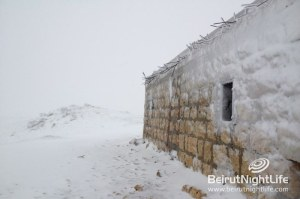 Snow covers Lebanese Mountains