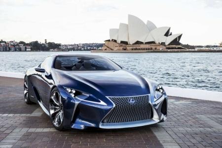 Lexus Reveals LF-LC Blue
