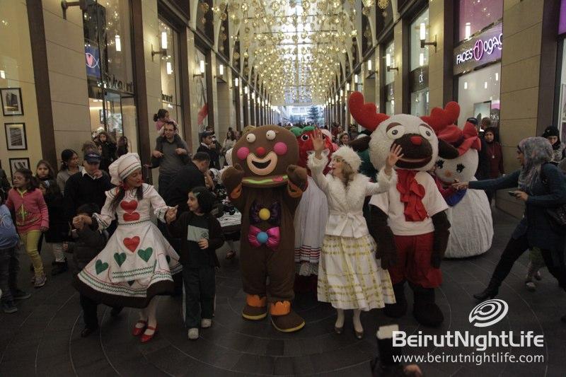 Magical Christmas Village at Beirut Souks