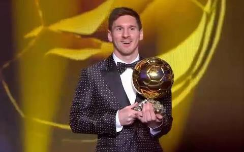 Messi Best Player in the World 2012