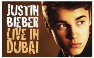 A Second Justin Bieber Concert Announced in Dubai on May 5th
