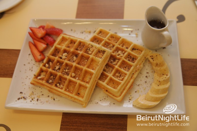 Waffles! Waffles! Come Get Your Waffles at L'eau A La Bouche!