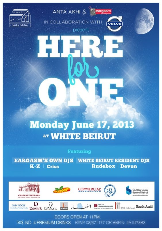 Here For One Night at White Beirut