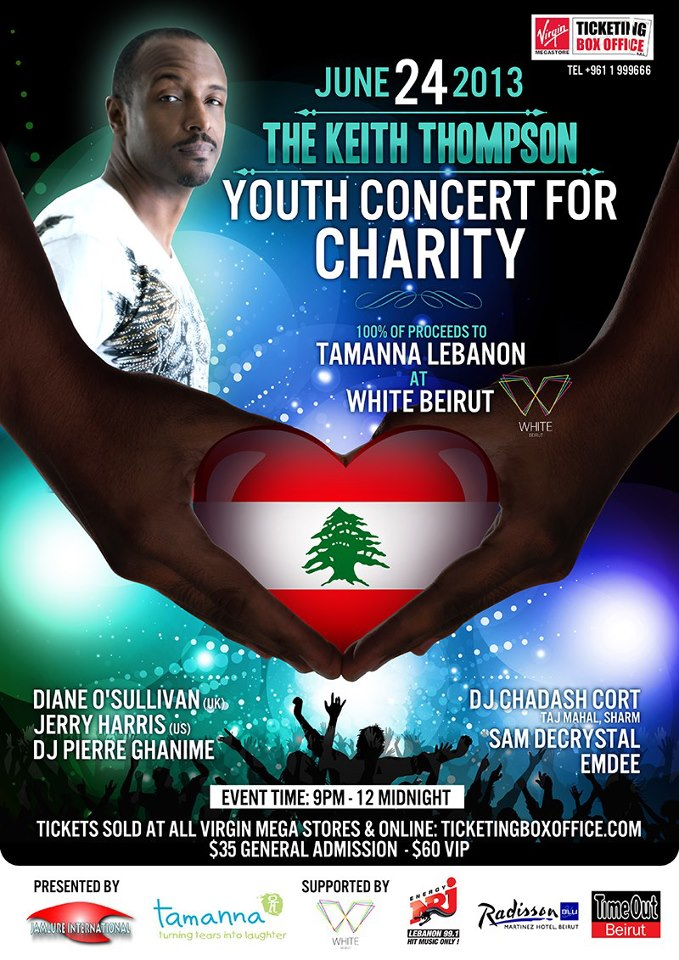 The Keith Thompson Youth Concert For Charity
