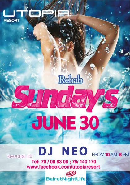 Rehab Sunday at Utopia