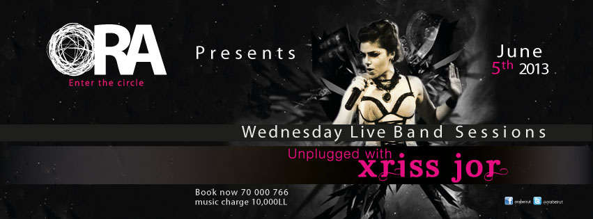 Wednesday Live Band Sessions Unplugged with Xriss Jor