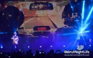 "Pet Shop Boys ""Domino Dancing"" performance at Byblos Festival 2013"