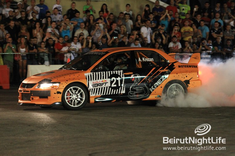 Red Bull Drifting Mania in Lebanon