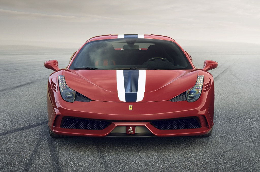 The Ferrari 458 Speciale to debut at Frankfurt