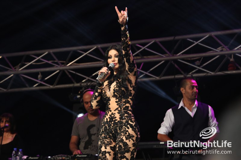 Haifa Mesmerizes at the Ehmej Festival on Saturday Night
