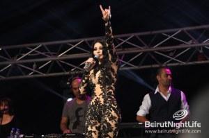 Haifa Mesmerizes at the Ehmej Festival on Saturday Night