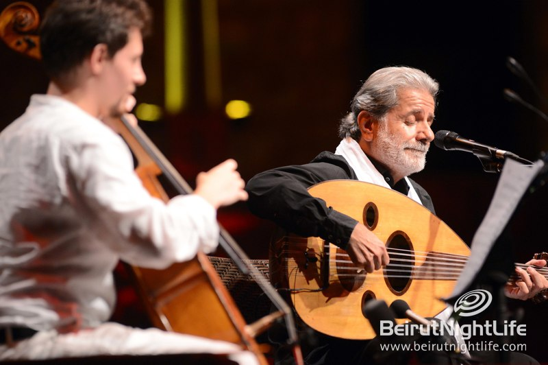 Marcel Khalife at the Baalbeck International Festival