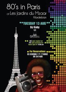 80's in Paris