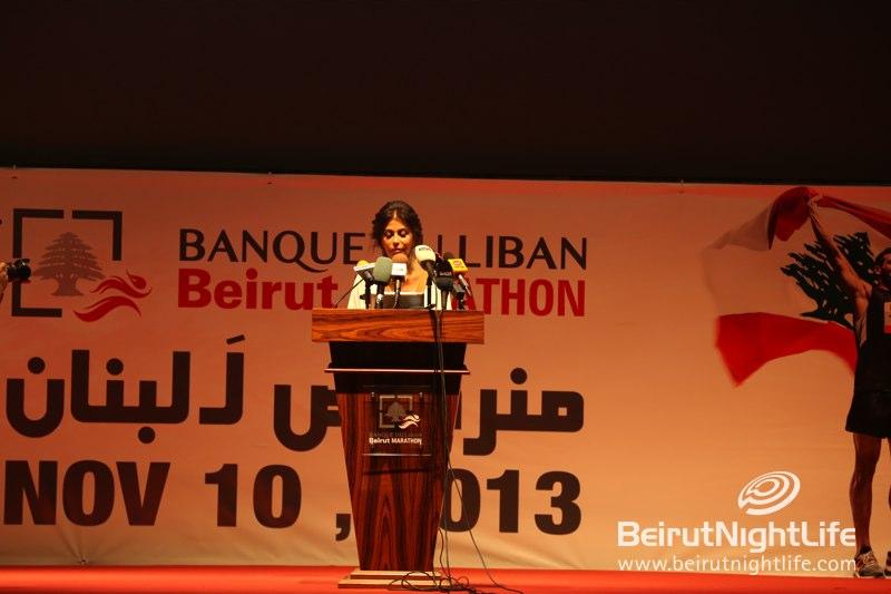 "BMA launches the ""Banque du Liban Beirut Marathon"" 2013- Run for Lebanon"