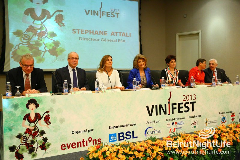 Announcing Vinifest 2013 at ESA Press Conference