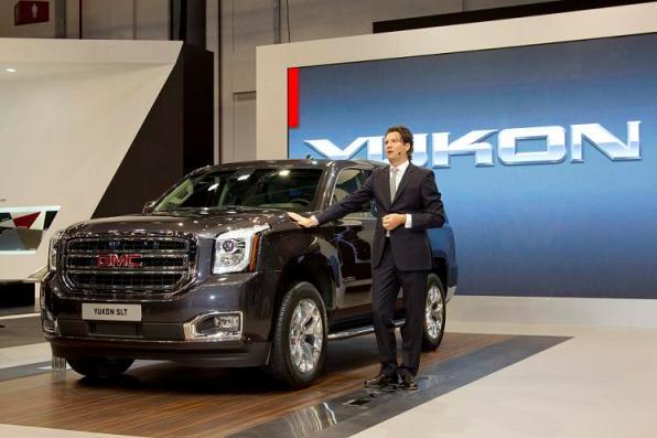 2015 Yukon at the 2013 Dubai International Motorshow