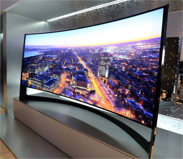 105 inch CURVED UHD TV