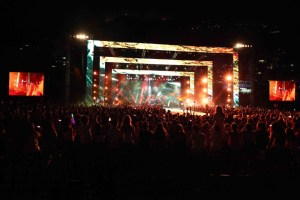 Imagine Dragons Amazed Audience at the Jounieh International Festival 2014