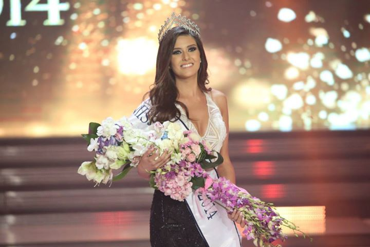 Saly Greige crowned Miss Lebanon 2014