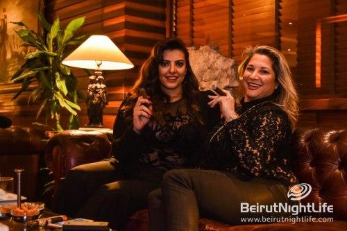 Lebanese Cigar Aficionados at Coral Beach Hotel & Resort Mar 18, 2016