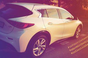 Test driving the INFINITI Q30