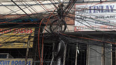 Wires in Kolkata