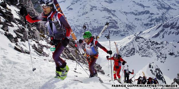 Chamonix skiing adventure