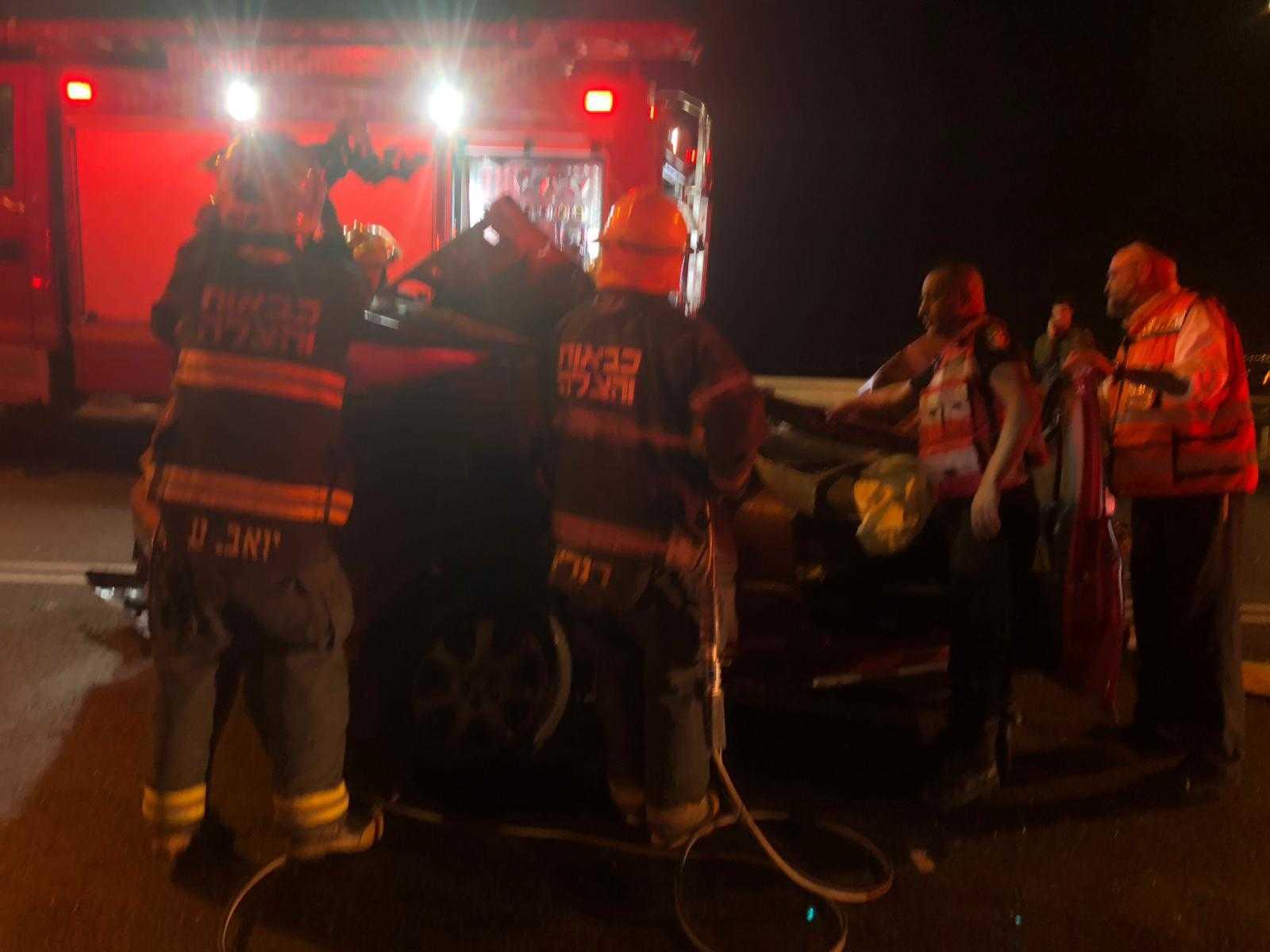 טרגדיה: צעיר נהרג הלילה בתאונה חזיתית סמוך לביתר