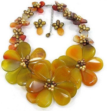 Bejeweled By Gina Necklace: Bees Buzzin
