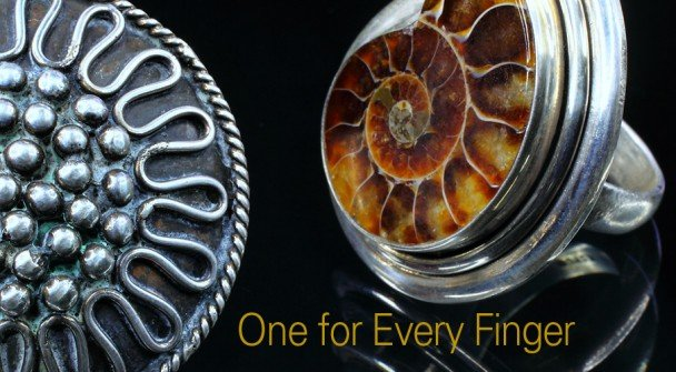 Bejeweled by Gina: One for every finger