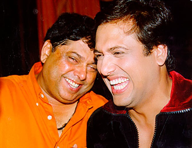 Best actor-director pair David Dhawan and Govinda