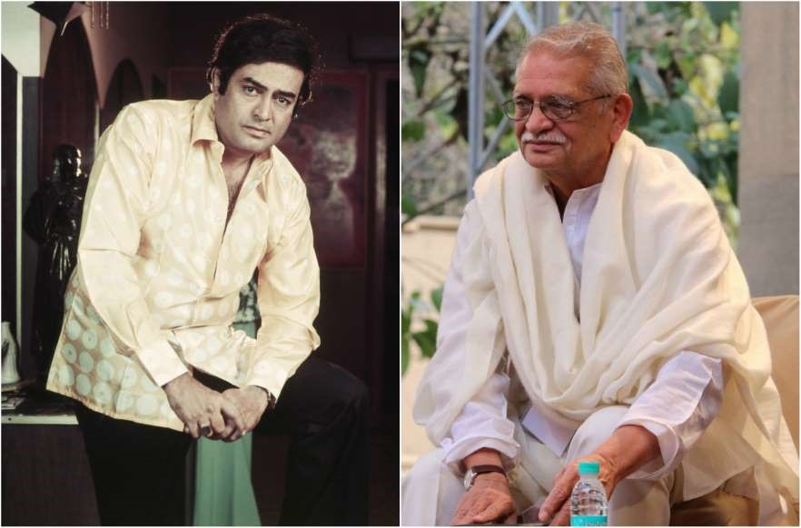 Director-actor pair Sanjiv Kumar and Gulzar