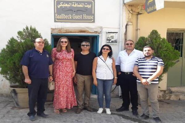 سفيرة الدانمارك في بعلبك وبيت الضيافة: الزيارة لبناء علاقات ودية وتعزيز التعاون