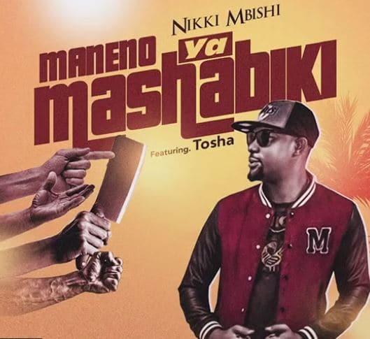 AUDIO: Nikki Mbishi Ft. Tosha – MANENO YA MASHABIKI
